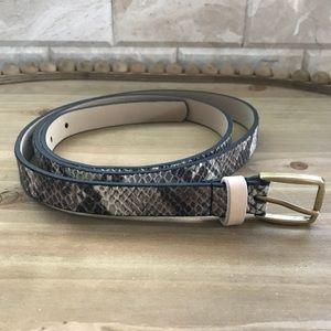 GAP snakeskin belt